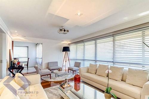 Imagem 1 de 15 de Moema Passaros Apto 3 Quartos Sendo 2 Suites 180 Àù R$ 2.150.000,00 - 11618