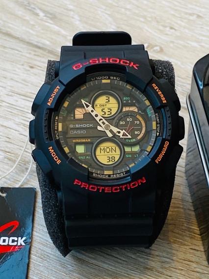 Relógio Casio G-shock Preto Ga-140-1a4dr