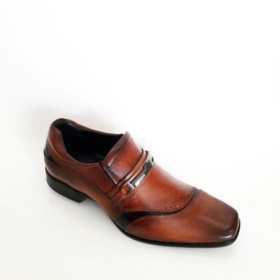 Sapato Em Couro Rafarillo - Confortável 79326
