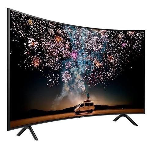 Tv Samsung 55ru7300 Curvo 4k Smart Gtia 1año+soporte Movible