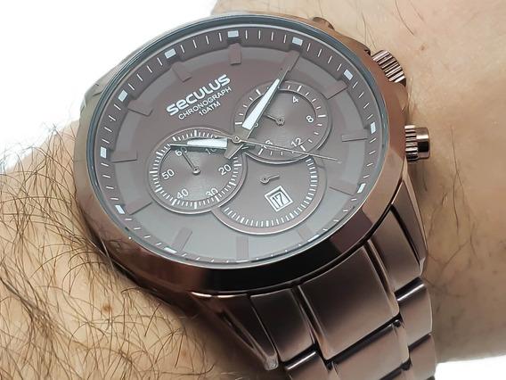 Relógio Masculino Seculus 20617gpsvma2 Garantia 2 Anos