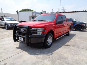 Ford F-150 3.5 Doble Cabina V6 4x2 At 2018 Rojo Rancing