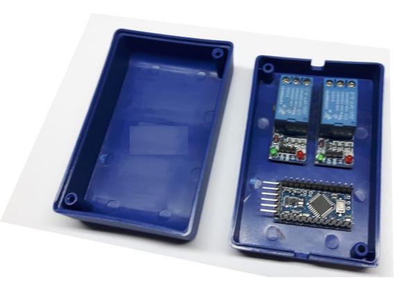6x Caixas Plasticas 9,3 X 6,1 X 3,5 P/ Eletrônica Arduíno