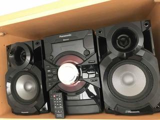 Equipo De Música Panasonic Sakx18