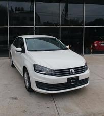 Volkswagen Vento 1.6 L4 Confortline At 2016 Blanco Cd