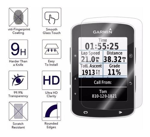 Garmin Edge 520 Edge 820 Protector Vidrio Templado