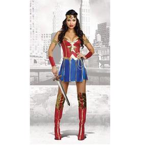 fbdefa95e19c9d Fantasia Mulher Maravilha Cosplay Liga Da Justiça Dress