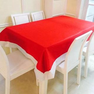 Mantel Rojo Y Blanco Para Navidad