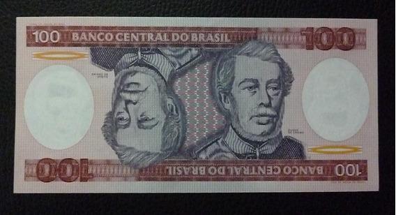 Brasil Billete 100 Cruzeiros Año 1984 Pick 198 Unc Sin Circular