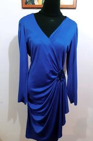 Hermoso Vestido Talla Grande Xl/xxl Elasticado