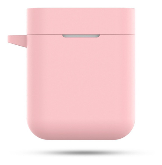 Funda De Silicona Para Xiaomi Airdots Pro Air Rosa