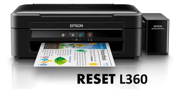 Reset Epson L360 Sem Serial E Ilimitado