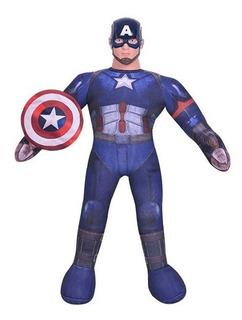 Muñeco Soft Capitan America Civil War New Toys Con Sonido