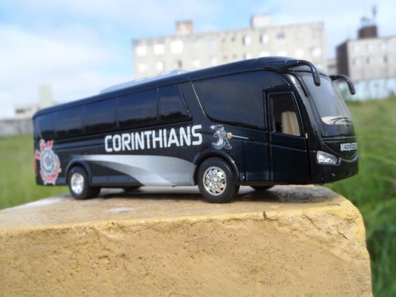 Miniatura Ônibus Do Corinthians Em Metal