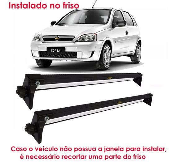 Rack De Teto Bagageiro Aço Chevrolet Corsa Hatch