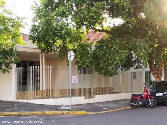 Casa Para Locação Em Presidente Prudente, Vila Santa Helena, 3 Dormitórios, 2 Banheiros, 2 Vagas - 00223.001
