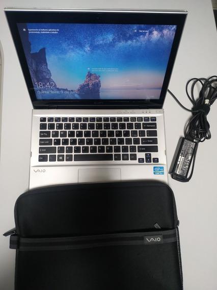 Notebook Sony Vaio Aço Escovado Impecável.
