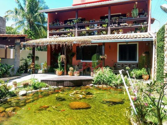 Casa Com 3 Quartos À Venda, 330 M² Por R$ 623.000 - Laranjal - São Gonçalo/rj - Ca0137