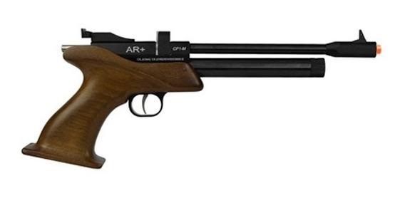 Pistola De Pressão Co2 Cp1-m Cabo Madeira 5.5mm - Promoção