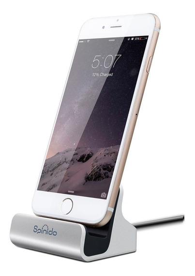 Apple Dock Com Cabo Lightning 3313165 Spinido Silver