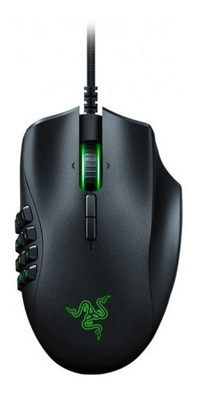 Mouse Gamer Naga Trinity Placa Intercambiable Razer