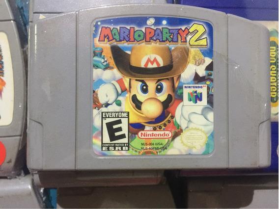 Mario Party 2 Fita Original Nintendo 64