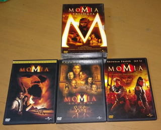 Trilogia La Momia 3 Dvd Originales