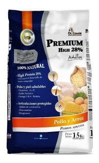 Alimento Balanceado Dr. Cossia Premium 28% Proteínas X 20 Kg