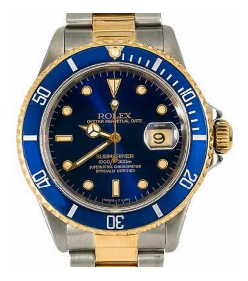 Rolex Submariner Aço E Ouro