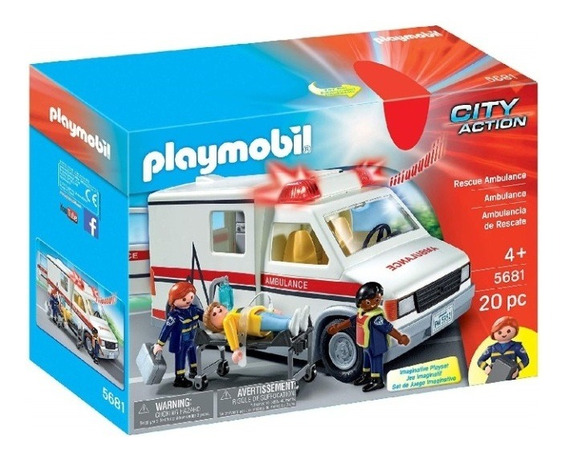 Playmobil - Ambulancia De Urgencias
