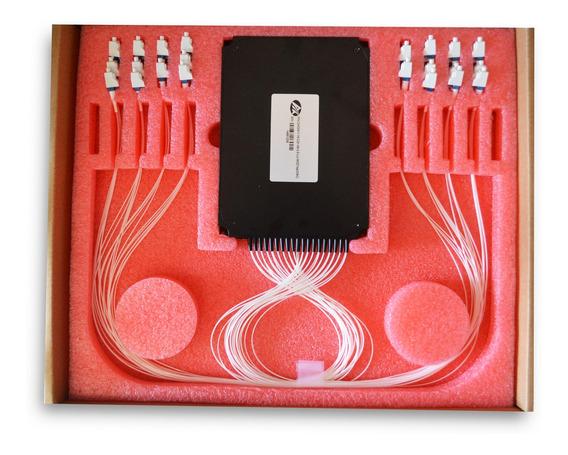 Modulo Mux E Demux Optico 16 Canais Dwdm Tap+osc Ch21 Rohs