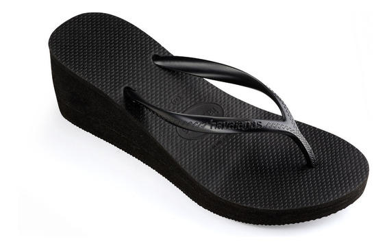 Ojotas Havaianas High Fashion C/ Plataforma Mujer Originales