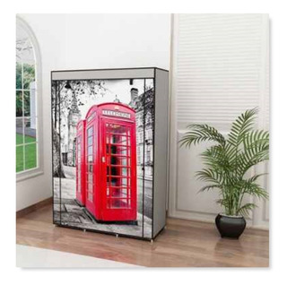 Armario Closet Caseta Telefonica Londres Ropa Envio Gratis