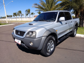 Mitsubihsi L200 Outdoor 2.5 Gls Tdi 4x4 Diesel Prata 2011
