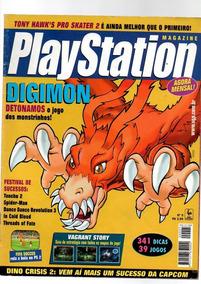 Revista Playstation Digimon Detonado Nº 05