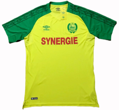 Camisa Nantes Umbro 2017/2018 Sambaquifut