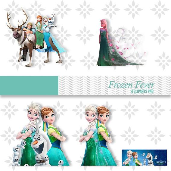 Kit Imprimible Frozen Fever 44 Imagenes Clipart