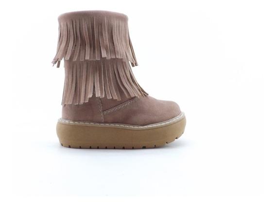 Botas De Nena Con Flecos (flopi 500)
