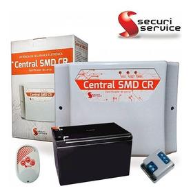 Central De Choque Gcp10.000 Smd Com Controle + Bateria 12v