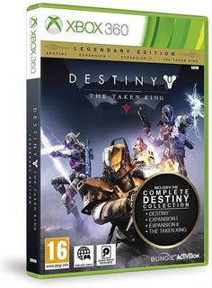 Videojuego Destiny The Taken King Xbox Físico Nuevo Sellado