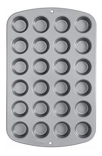 Molde Hornear Mini Cupcakes X 24 Cavidades