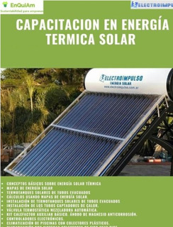Curso Energía Solar Térmica Pdf Videos Teleconferencia