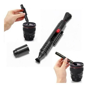 3 Em 1 Kit Caneta Limpeza De Lentes Canon Nikon Sony Pentax