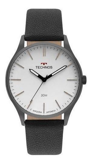 Relógio Technos Masculino Classic Steel 2035mqq/2b