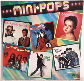 1211 Mvd- 1982 Lp- Mini Pops- Cantores Mirins Internacional