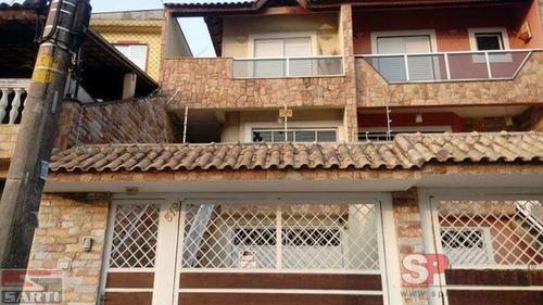 Imagem 1 de 15 de Maravilhoso Sobrado Vl Maria Alta Com 3 Suites 6 Vagas Dep. De Empregada, Otima Localização 850 Mil - St14871