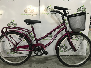 Bicicleta Playera Full De Dama Kelinbike Rodado 24