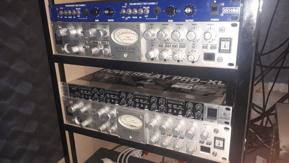Pré Amplificador Avalon 737sp
