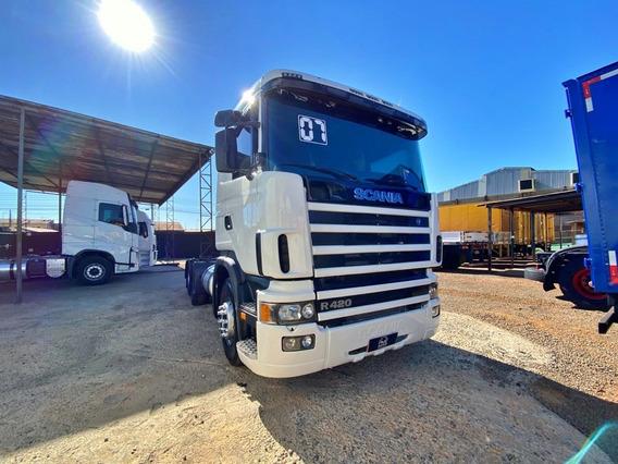 Scania R124 420 R420 2007 Trucado C/ar = G380 113 P340