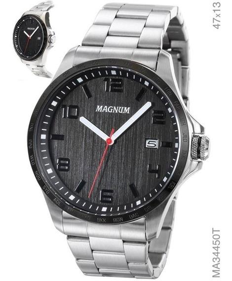 Relogio Magnum Masculino Ma34450t